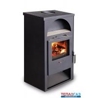 Дровяная печь-камин Aton Ardent 6 кВт буржуйка