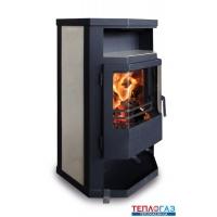 Дровяная печь-камин Aton Svarog 7 кВт буржуйка