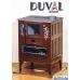 Печь камин дровяная DUVAL EK-503F + Поддон T60