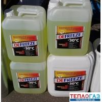 Теплоноситель для систем отопления антифриз Defreeze 10 литров