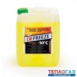 Теплоноситель для систем отопления антифриз Defreeze 20 литров