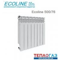 Алюминиевый радиатор отопления Ecoline 500/76