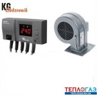 Комплект автоматика KG Elektronik CS-20 LED +вентилятор DP-02