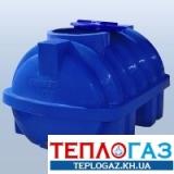 Емкость горизонтальная пластиковая Roto EuroPlast RG 500 Р/ребро двухслойная
