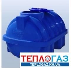 Емкость пластиковая Roto EuroPlast RG 500 Р/ребро горизонтальная двухслойная