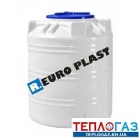 Емкость вертикальная пластиковая Roto EuroPlast RVO 200 л однослойная