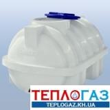 Емкость горизонтальная пластиковая Roto EuroPlast RGO 500 Р/ребро однослойная