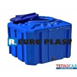 Емкость квадратная пластиковая Roto EuroPlast RK 200 К куб двухслойная