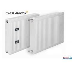 Стальной панельный радиатор Mastas SOLARIS тип 22 500H x 1300L боковое подключение